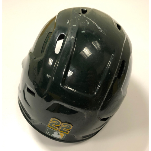 Photo of Game-Used 2020 Helmet - Ramon Laureano - 9/10