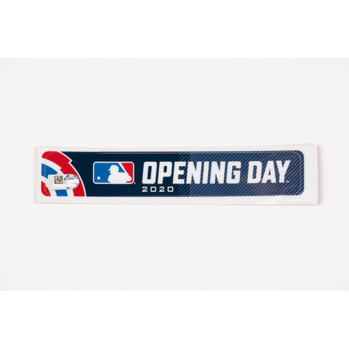 Photo of 2020 Opening Day Team-Issued Base Jewel