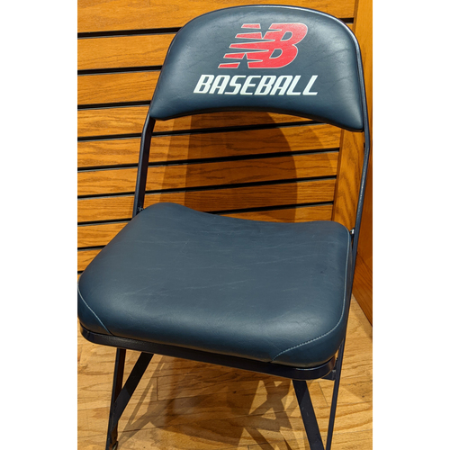 Photo of Fenway Park Visitor's Clubhouse Game Used Hisashi Iwakuma Locker Room Chair