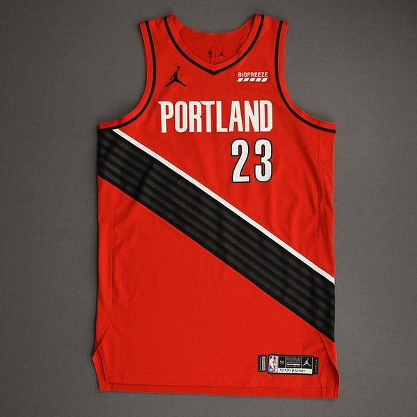 Image of Robert Covington - Portland Trail Blazers - Game-Worn Statement Edition Jersey - 2021 NBA Playoffs