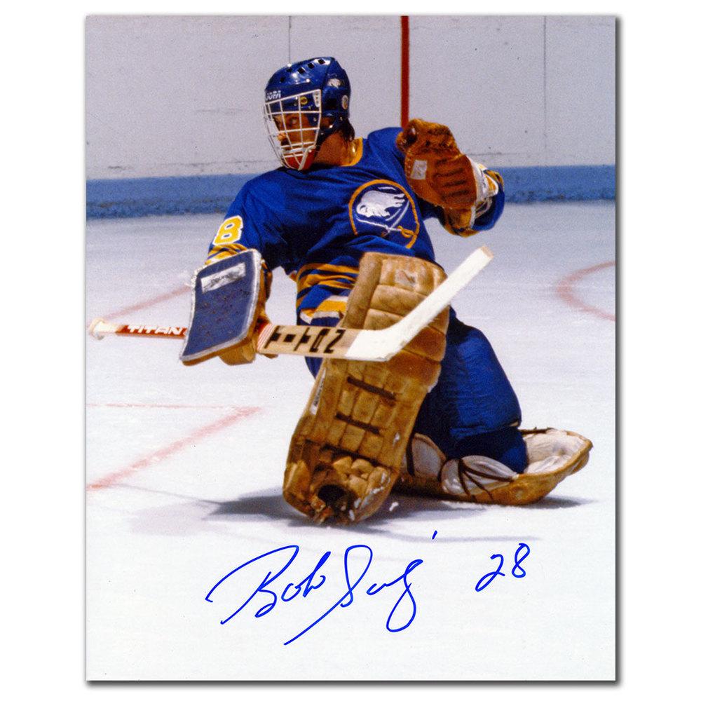 Bob Sauve Buffalo Sabres Autographed 8x10