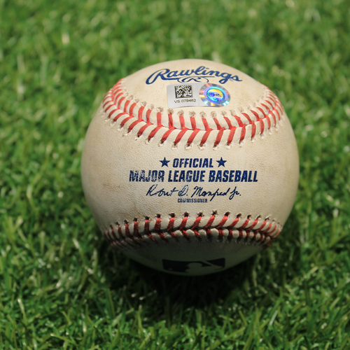 Photo of Game-Used Baseball: Daniel Lynch 8th Career Strikeout (Miguel Cabrera)  (DET@KC 7/25/21)