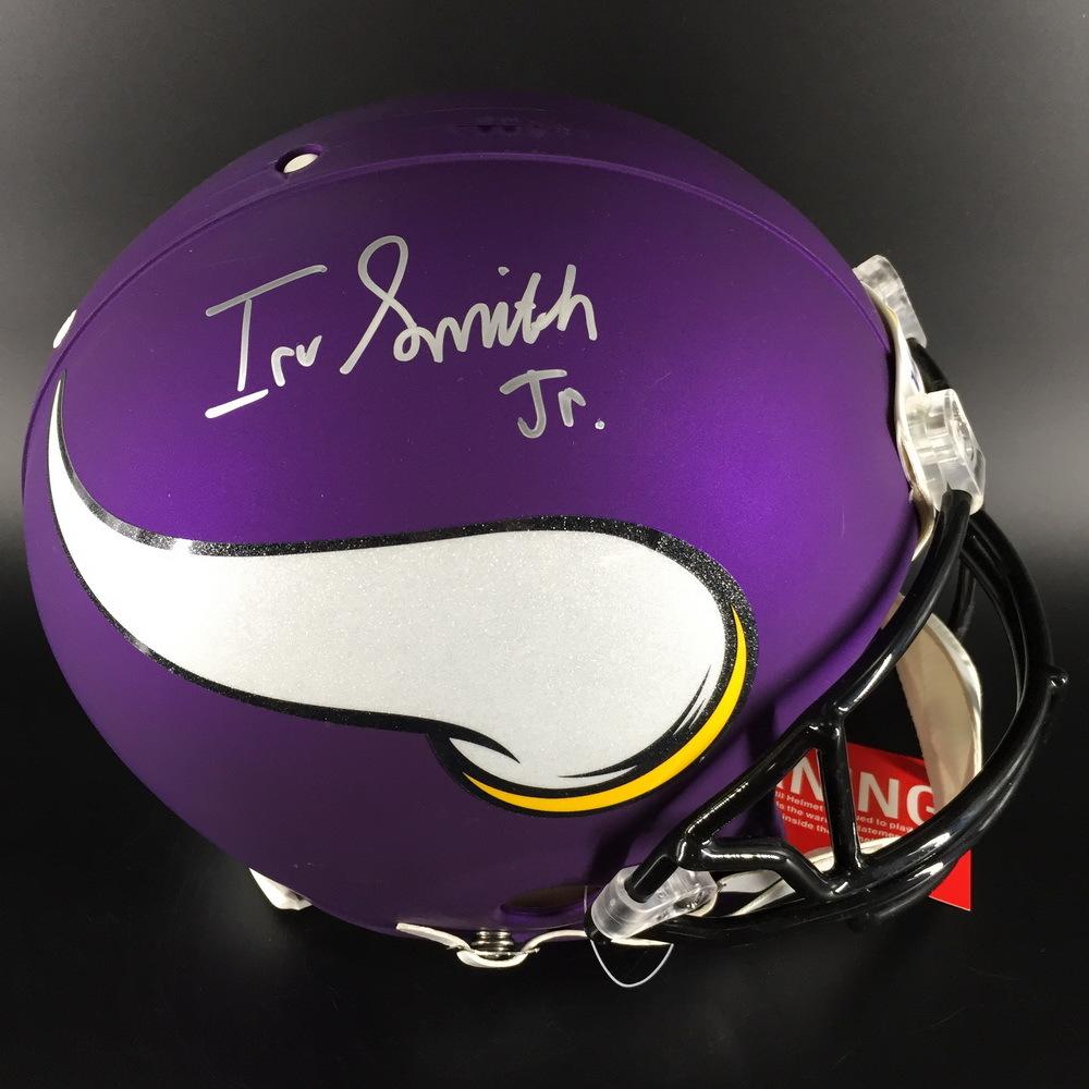NFL - Vikings Irv Smith Jr. Signed Proline Helmet