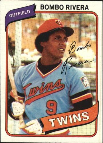 Photo of 1980 Topps #43 Bombo Rivera