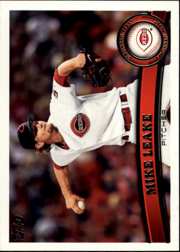 Photo of 2011 Topps #516A Mike Leake
