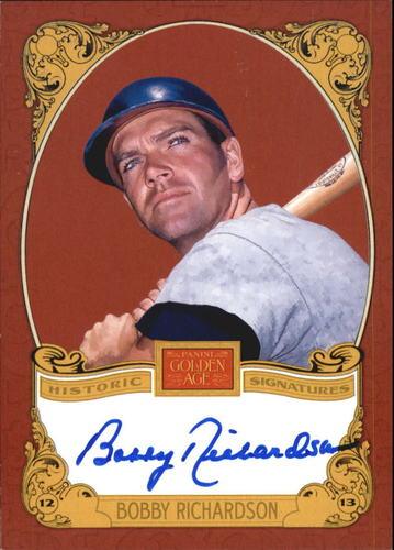 Photo of 2013 Panini Golden Age Historic Signatures #45 Bobby Richardson