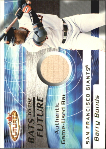 Photo of 2001 Fleer Futures Bats to the Future Game Bat #1 Barry Bonds