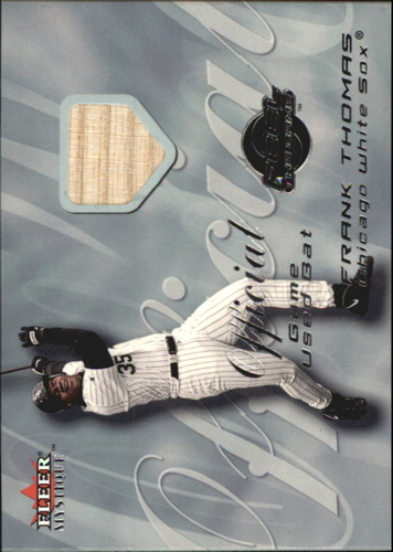 Photo of 2000 Fleer Mystique Feel the Game #14 Frank Thomas Bat