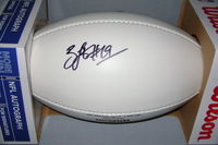 PATRIOTS - BRANDON LAFELL SIGNED PANEL BALL W/ PATRIOTS FOUNDATION LOGO