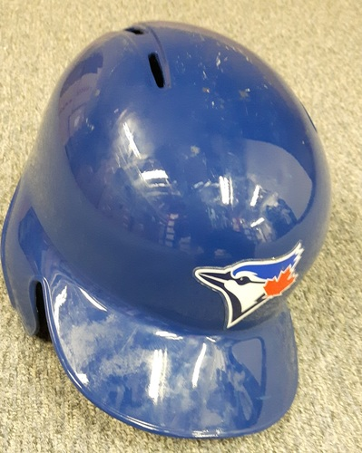 Authenticated Team Issued Helmet - #10 Ian Parmley