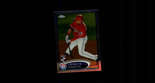 Photo of 2012 Topps Chrome #175 Leonys Martin Rookie Card