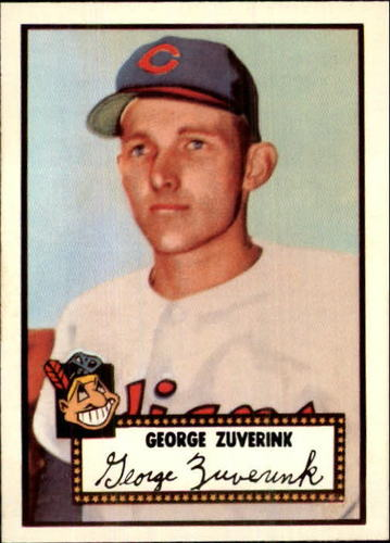 Photo of 1983 Topps 1952 Reprint #199 George Zuverink
