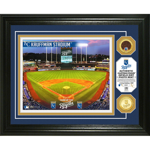 Photo of Serial #1! Kansas City Royals Dirt Coin Photo Mint
