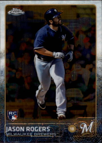 Photo of 2015 Topps Chrome #44 Jason Rogers RC
