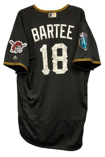 Photo of Kimera Bartee Game-Used Spring Training Jersey