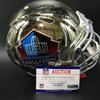 HOF - Signed Chrome Revolution Hall of Fame Helmet W/ HOF 18 Class (Including Ray Lewis, Randy Moss, Bobby Beathard, Robert Brazile, Brian Dawkins, Jerry Kramer & Brian Urlacher)