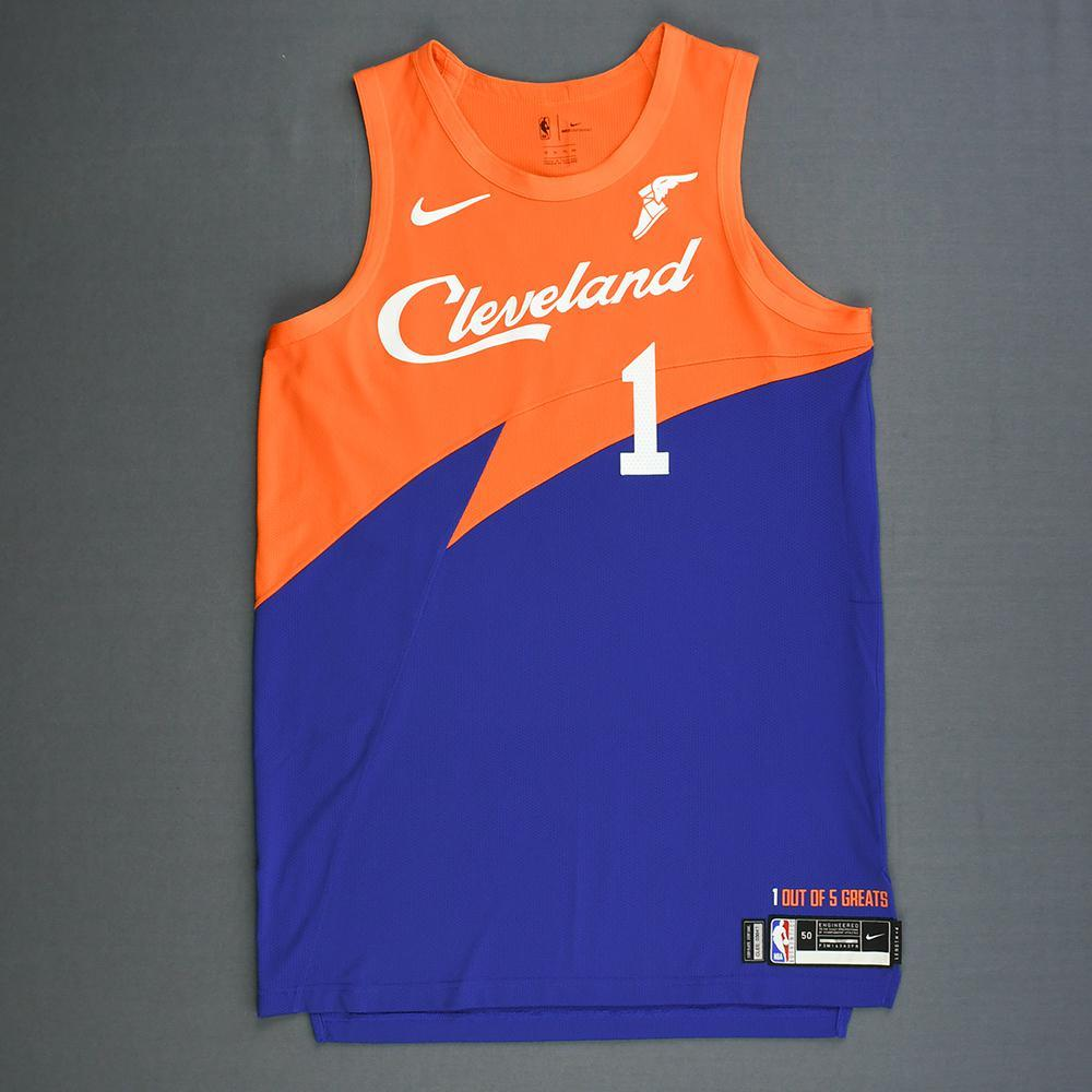 819e6561 Rodney Hood - Cleveland Cavaliers - Game-Worn City Edition Jersey - 2018-19