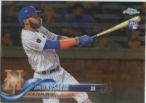 Photo of 2018 Topps Chrome Update #HMT29 Amed Rosario RC