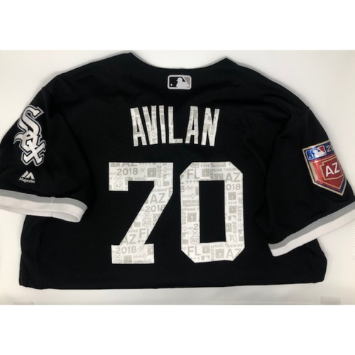Photo of Luis Avilan Team Issued 2018 Spring Training Jersey (not authenticated)