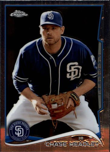 Photo of 2014 Topps Chrome #53 Chase Headley