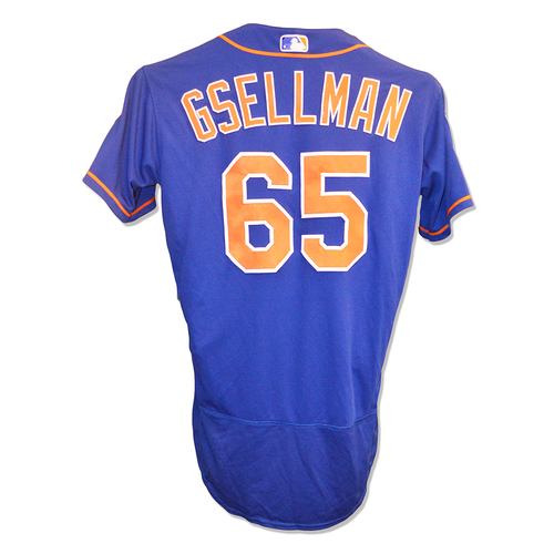 Photo of Robert Gsellman #65 - Team Issued 2019 Spring Training Jersey - 2019 Spring Training