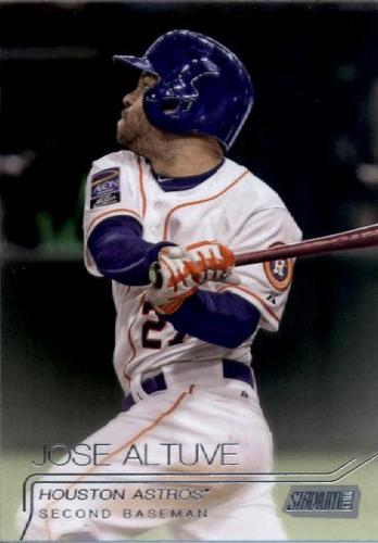 Photo of 2015 Stadium Club #205 Jose Altuve
