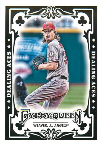 Photo of 2013 Topps Gypsy Queen Dealing Aces #JW Jered Weaver