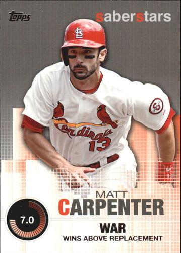 Photo of 2014 Topps Saber Stars #SST6 Matt Carpenter