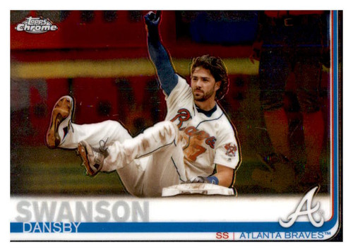 Photo of 2019 Topps Chrome #169 Dansby Swanson