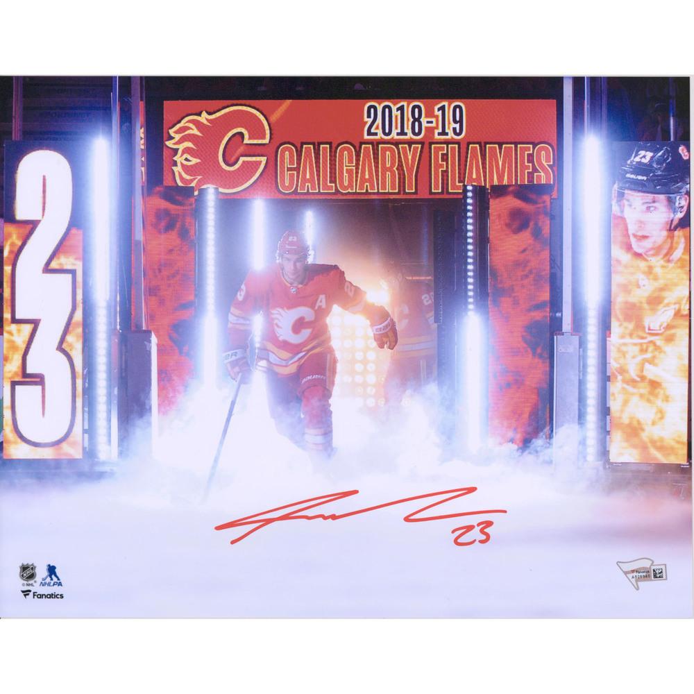 Sean Monahan Calgary Flames Autographed 11