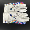 Crucial Catch - Chiefs Damien Williams Signed Game Used Gloves Game Date 10.7.18