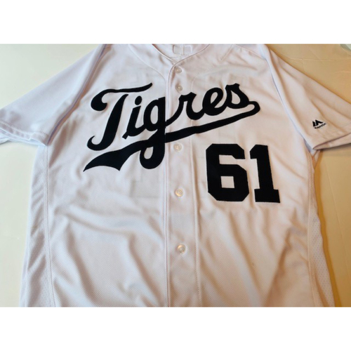 Photo of Game-Used Fiesta Tigres Jersey: Shane Greene