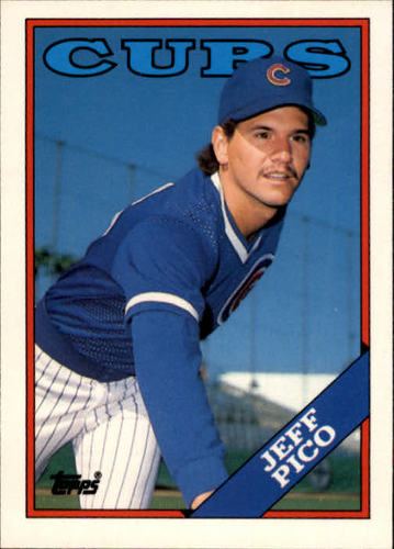 Photo of 1988 Topps Traded #87T Jeff Pico
