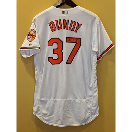 Photo of Dylan Bundy - Autographed Home Jersey