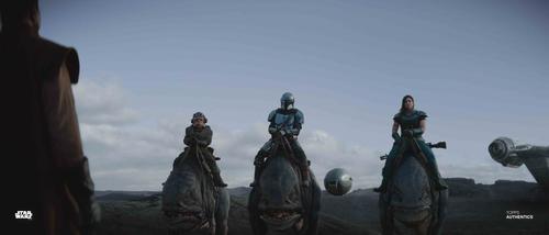 The Mandalorian, Cara Dune and Kuiil