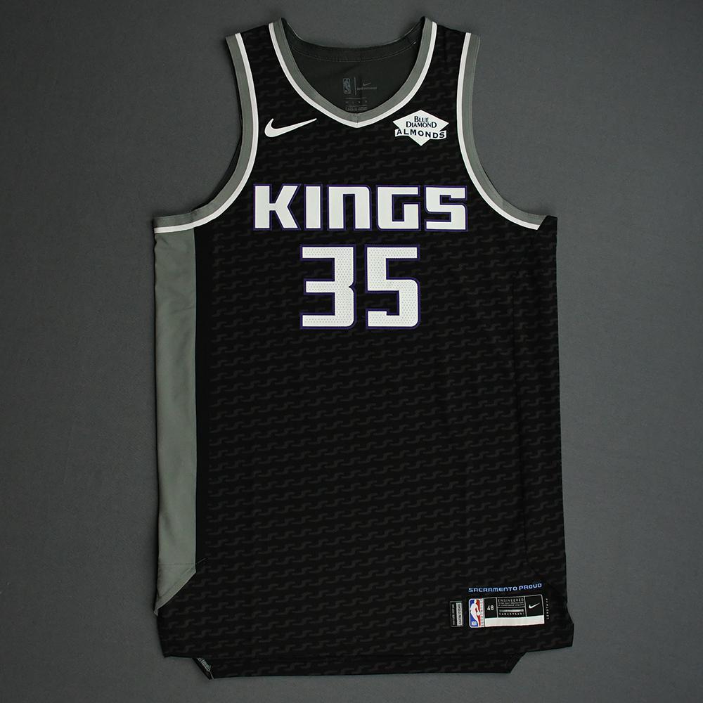 Marvin Bagley III - Sacramento Kings - Game-Worn Statement Edition Jersey - NBA India Games - 2019-20 NBA Season