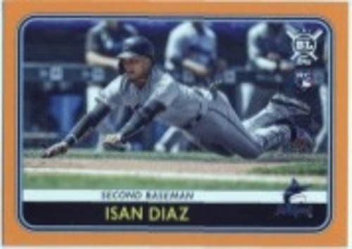 Photo of 2020 Topps Big League Orange #169 Isan Diaz