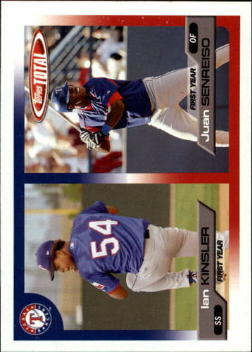 Photo of 2005 Topps Total #728 I.Kinsler RC/J.Senreiso RC