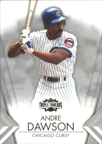Photo of 2012 Topps Triple Threads #73 Andre Dawson