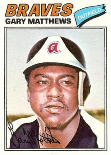 Photo of 1977 Topps #194 Gary Matthews