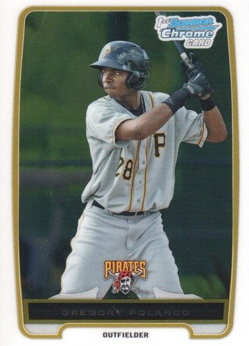Photo of 2012 Bowman Chrome Prospects #BCP182 Gregory Polanco Pre-Rookie Card