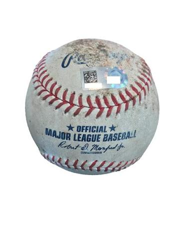 Game-Used Baseball from Pirates vs. Rockies on 6/12/17 - Taillon vs. Arenado, Reynolds, Gonzalez - Arenado Single, Reynolds Walk, 3 Pitches to Gonzalez Ending in a Foul Ball
