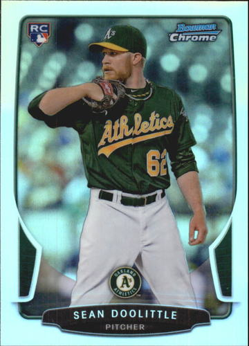 Photo of 2013 Bowman Chrome Refractors #212 Sean Doolittle