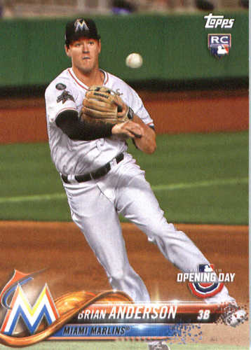 Photo of 2018 Topps Opening Day #131 Brian Anderson
