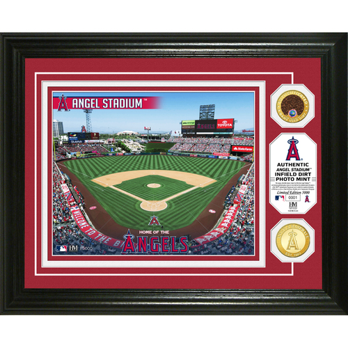 Photo of Serial #1! Los Angeles Angels Dirt Coin Photo Mint