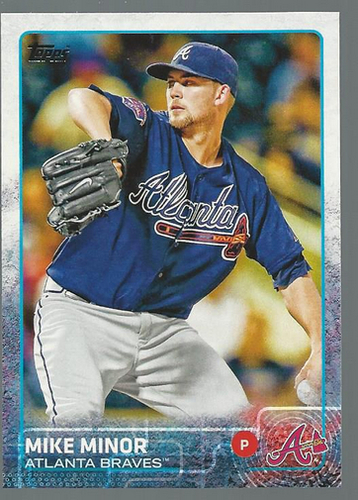 Photo of 2015 Topps #202 Mike Minor
