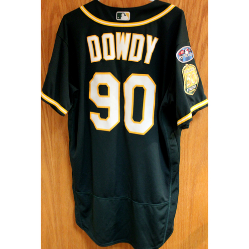 Photo of Game-Used Jersey: Jeremy Dowdy AL Wild Card Game 10/3/18