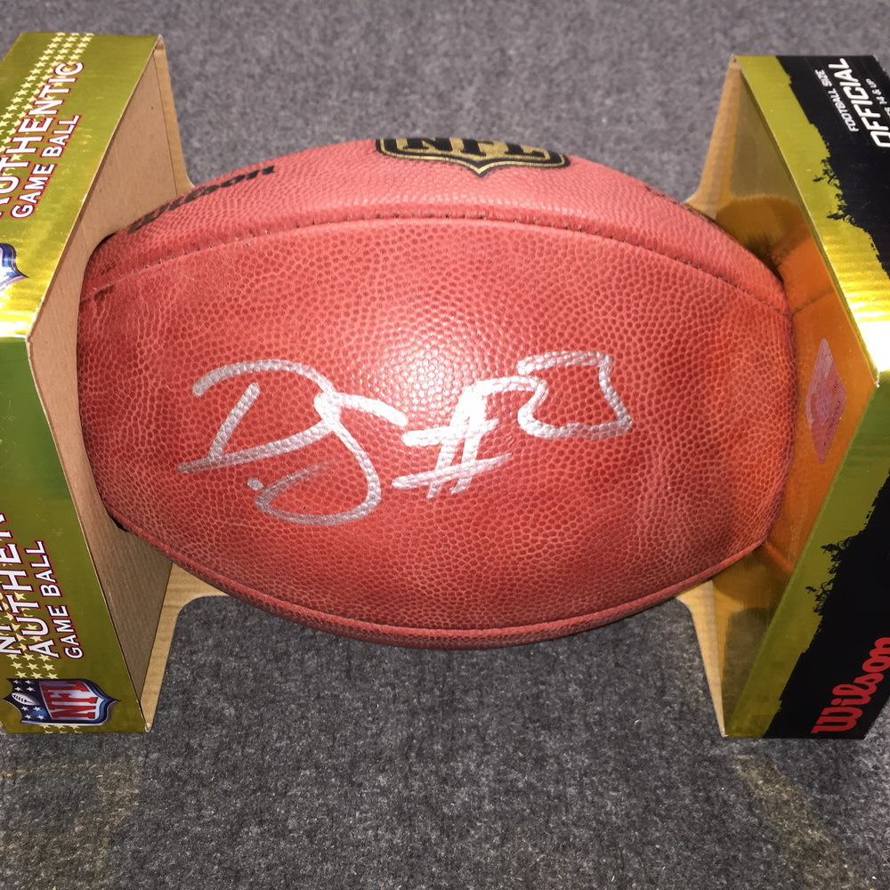 NFL - Lions Darius Slay signed authentic football