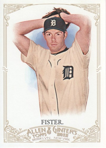 Photo of 2012 Topps Allen and Ginter #258 Doug Fister