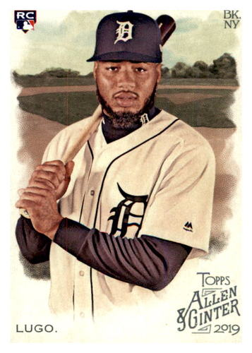 Photo of 2019 Topps Allen and Ginter #208 Dawel Lugo RC